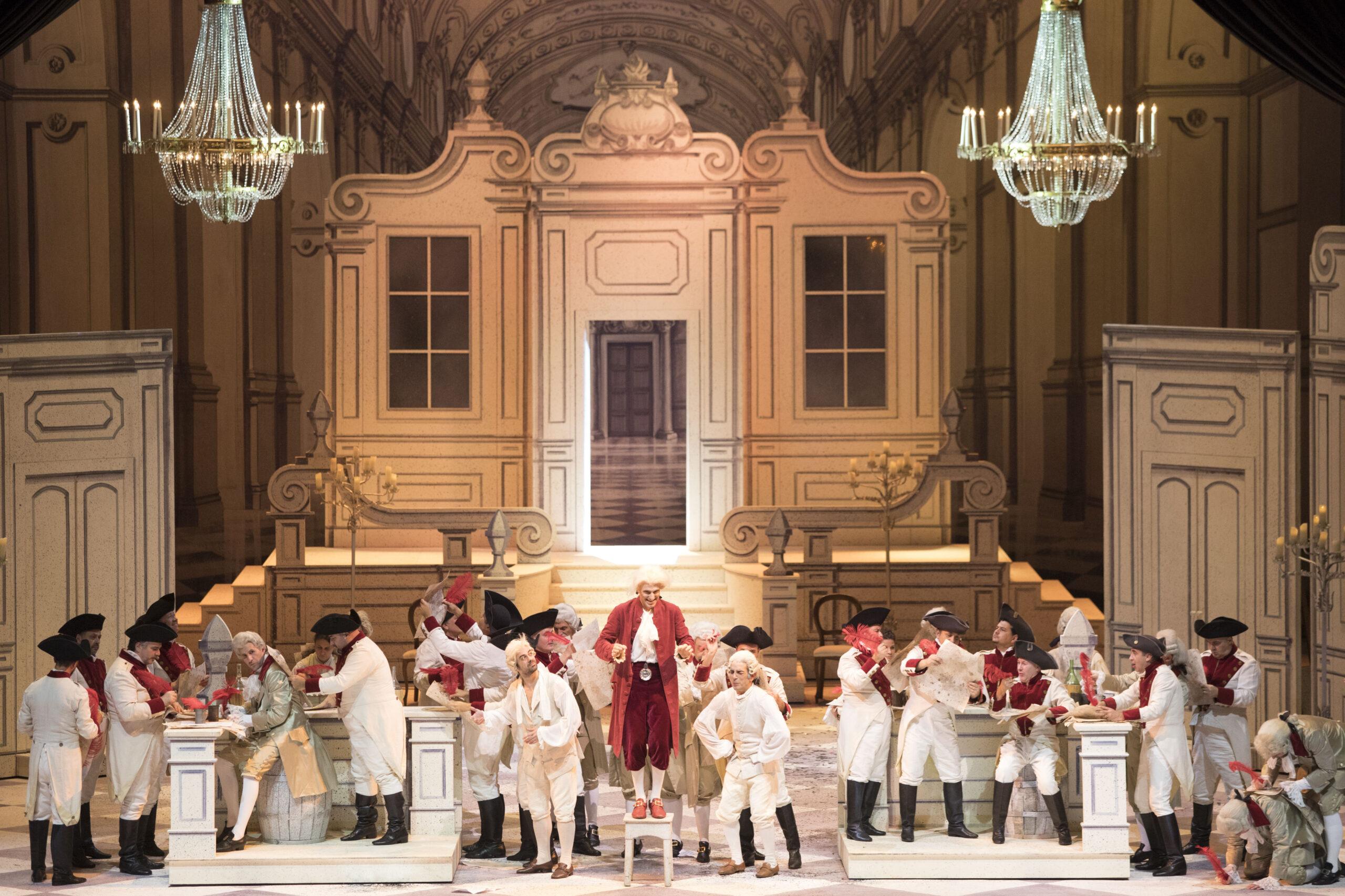 prima recita de La Cenerentola con il maestro Giuseppe Grazioli e la regia di Manu Lalli